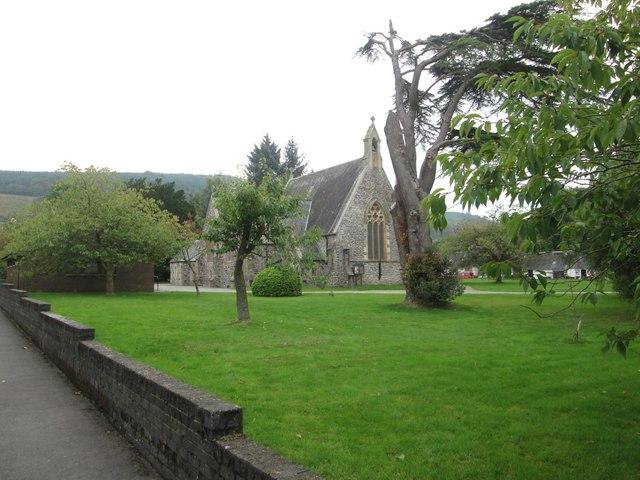 The church at Rosneath