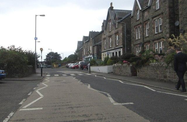 Houses and shops at Kilcreggan