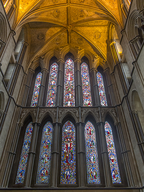 East window, Worcester Cathedral