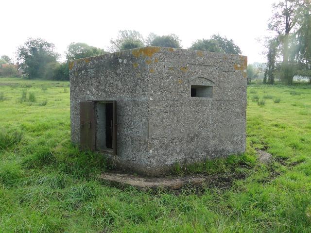 WWI hexagonal pillbox
