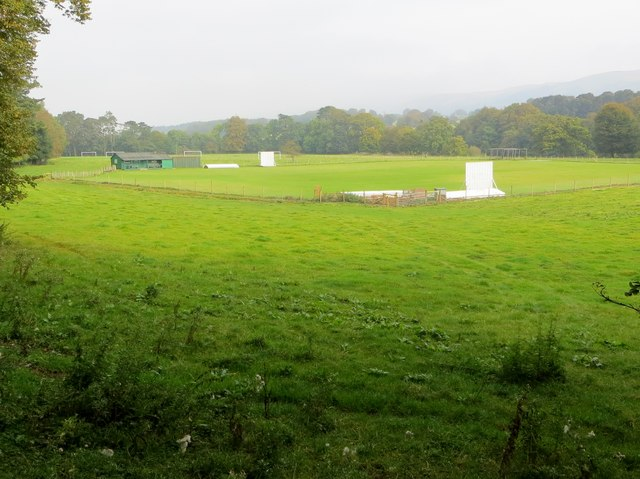 Cricket field at Kirkby Lonsdale