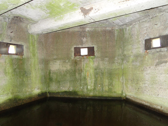 WWI pillbox (interior)