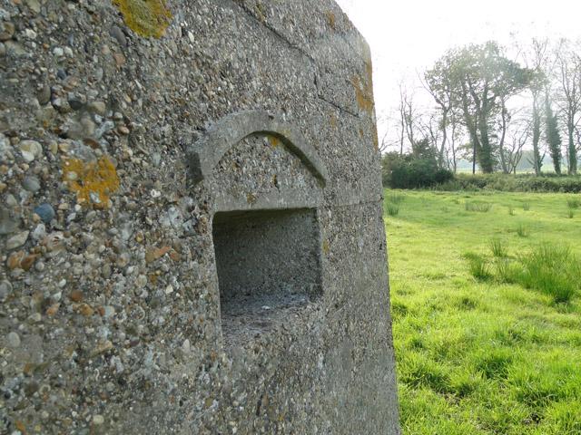 WWI pillbox (detail)