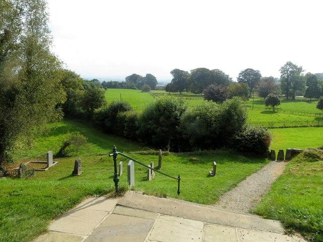 From the churchyard, Whittington