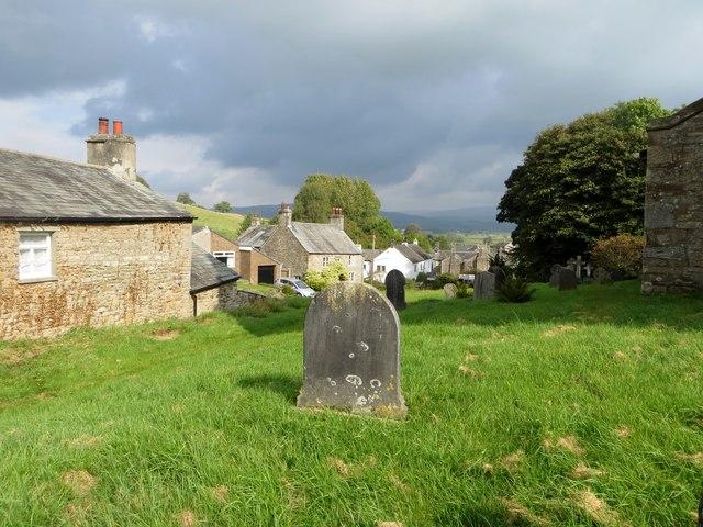 Whittington from the churchyard