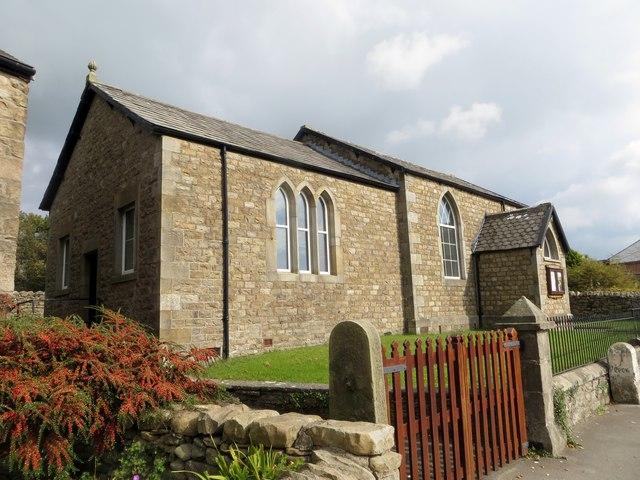 Methodist church, Cowan Bridge