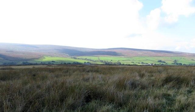 Moorland off Keasden Road