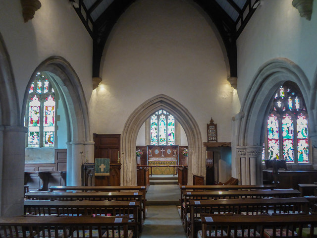 Church Interior, St Michael's Church, Stinsford, Dorset