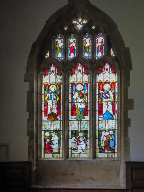 Stained Glass Window, St Michael's Church, Stinsford, Dorset