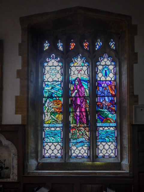 Stained Glass Window, St Michael's Church, Stinsford, Dorset