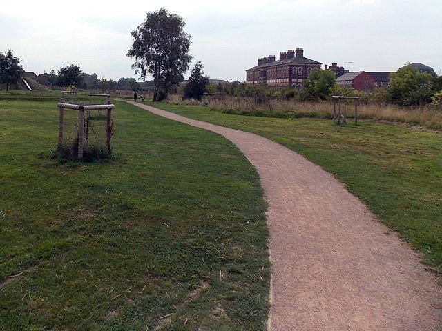 Oswald's Trail, Oswestry