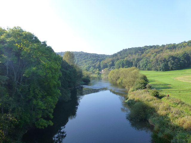 The River Severn viewed from Victoria Bridge