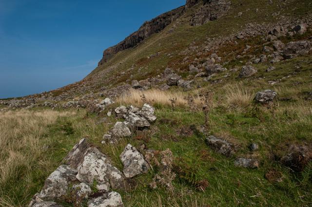 Old Wall below Beinn Duill