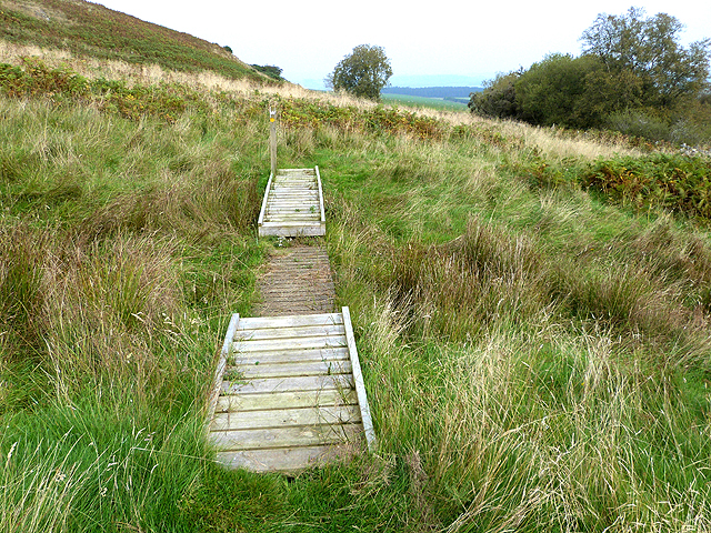 Border Abbeys Way on Black Law