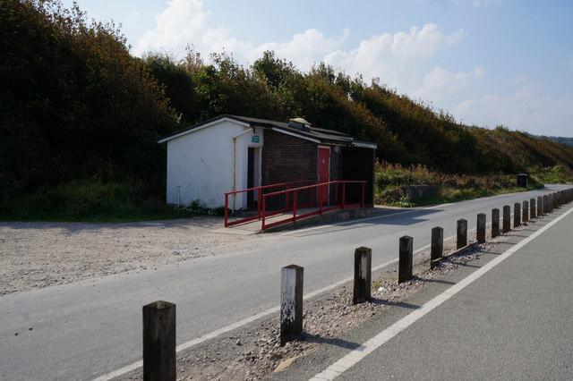 Public toilets on Wem Road, Llanddulas