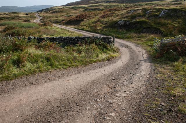 Track to Haunn