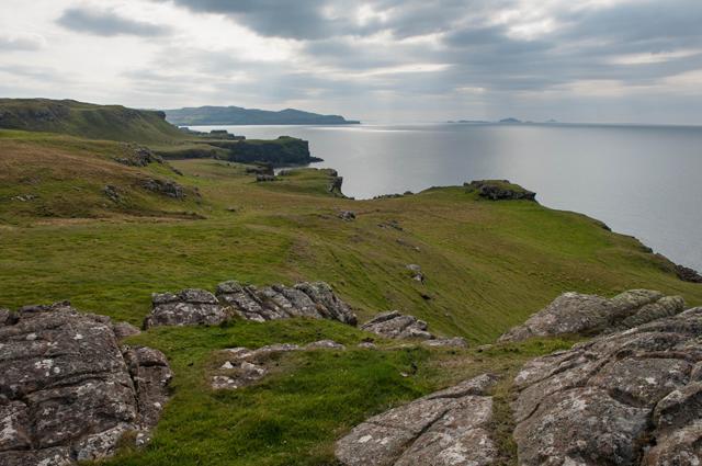 The coast south of Caliach Point