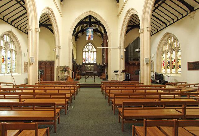 St John the Evangelist, Stratheden Road, Blackheath - East end