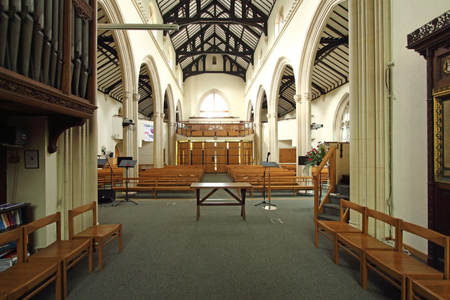 St John the Evangelist, Stratheden Road, Blackheath - West end