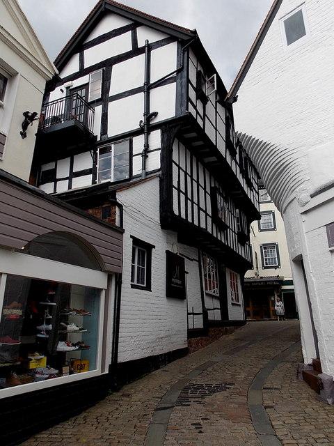 Fish Street, Shrewsbury.