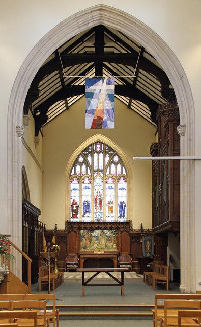 St John the Evangelist, Stratheden Road, Blackheath - Chancel