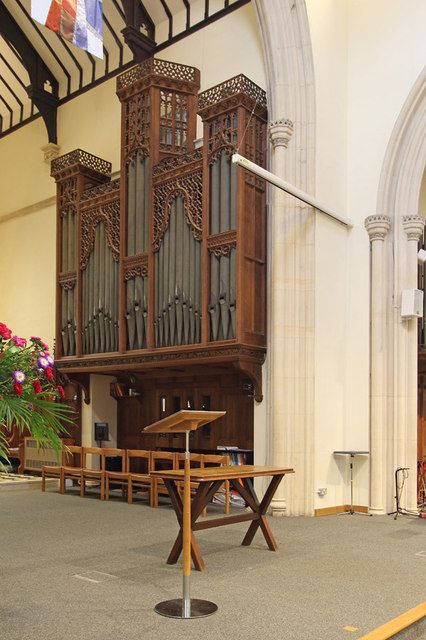 St John the Evangelist, Stratheden Road, Blackheath - Organ