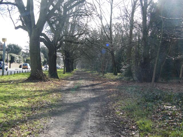 Parkside footpath