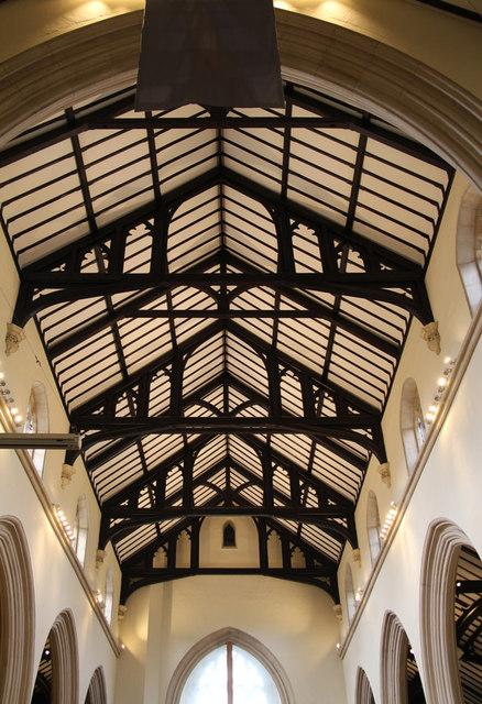 St John the Evangelist, Stratheden Road, Blackheath - Roof