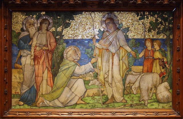 St John the Evangelist, Stratheden Road, Blackheath - Reredos