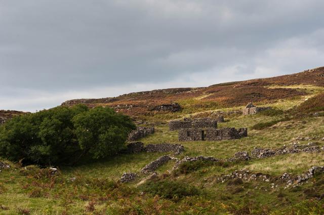The deserted village of Crackaig
