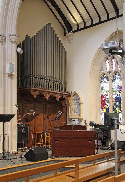 St John the Evangelist, Stratheden Road, Blackheath - Organ