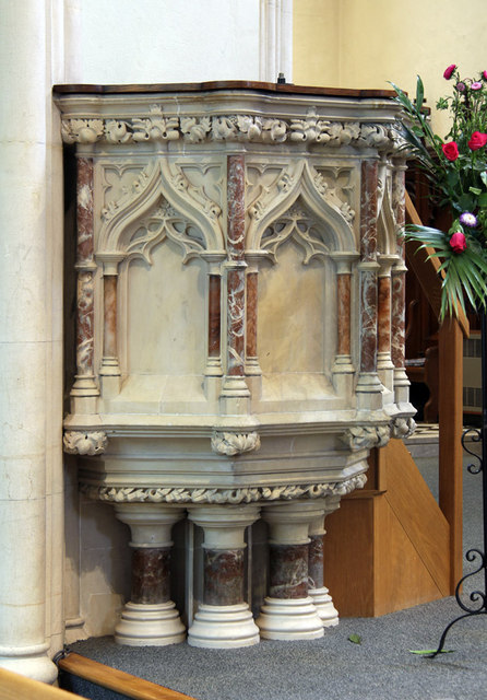 St John the Evangelist, Stratheden Road, Blackheath - Pulpit