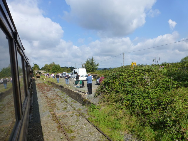 Enthusiasts at Erdington Station on the SVR
