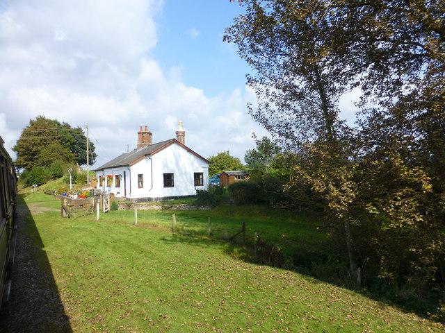 Cottage at Erdington Crossing on the SVR