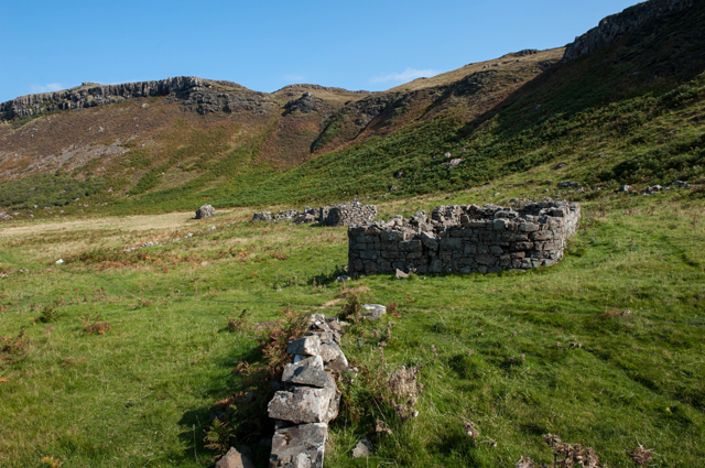 Deserted Village at Rubha nan Oirean