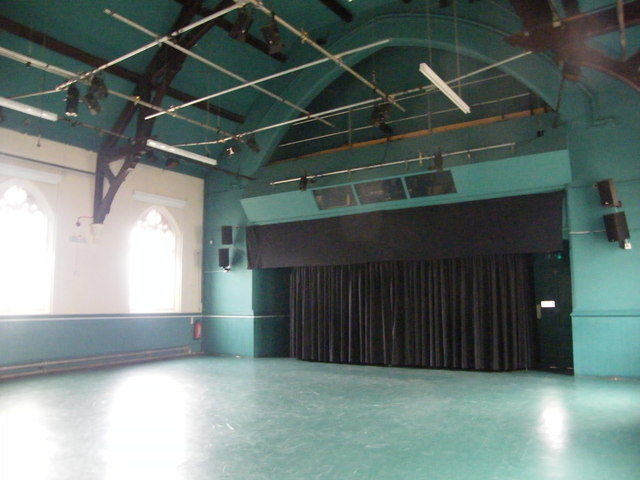 Ruskin Hall (interior)