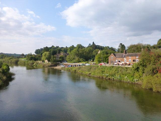 Tranquil scene at Upper Arley