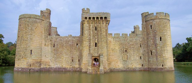 Bodiam Castle, Back Door