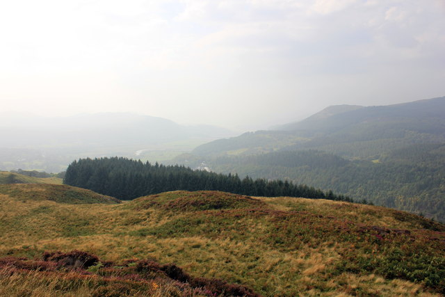 View south west from the Precipice Walk