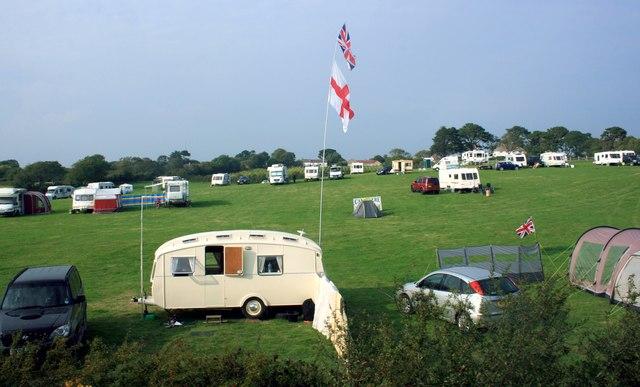 Campsite at Harman's Cross
