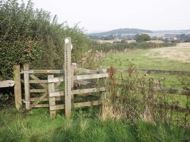Permissive footpath to Higher Town