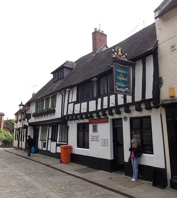 Three Fishes, Fish Street, Shrewsbury
