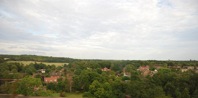 View from the Welwyn Viaduct