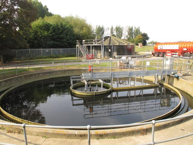 Thame sewage works