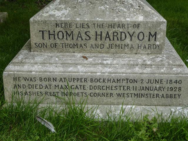 Thomas Hardy's Gravestone, St Michael's Church, Stinsford, Dorset