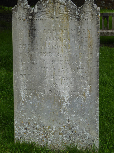 Hardy Family Gravestone, St Michael's Church, Stinsford, Dorset