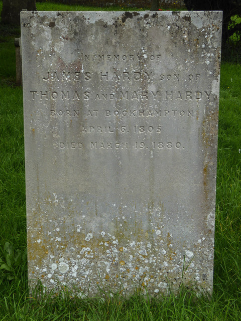 Hardy Family Gravestone, St Michael's Church, Stinsford, Dorset