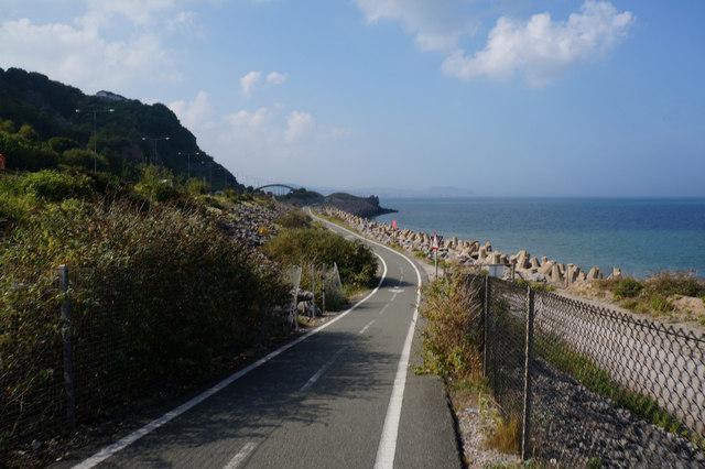 Wales  Coast Path towards Colwyn Bay