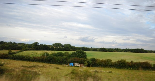 Countryside north of Knebworth