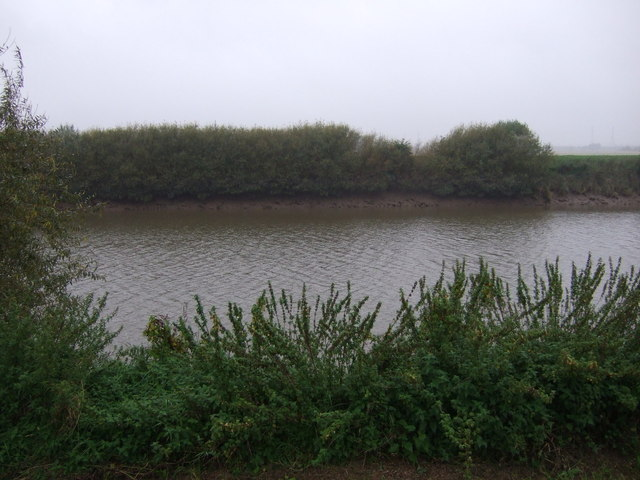 Looking west across the River Trent, Wildsworth